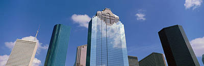 Downtown Office Buildings, Houston Art Print by Panoramic Images