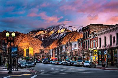 Downtown Ogden Utah Art Print