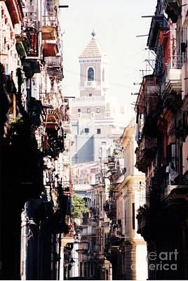 Photograph - Downtown Old Havana Cuba by Rafael Salazar