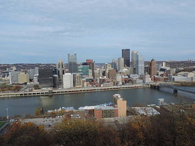 City Photograph - Downtown Pittsburgh From Mount Washington 3 by Cityscape Photography