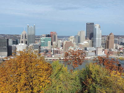 Wilderness Camping - Downtown Pittsburgh from Mount Washington 4 by Cityscape Photography