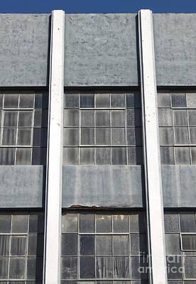 Downtown Pomona Windows Art Print by Gregory Dyer