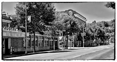 Photograph - Downtown Pullman Washington - The Vintage Look by David Patterson