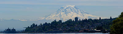 Photograph - Downtown Rainier Panaramic by Tikvah's Hope