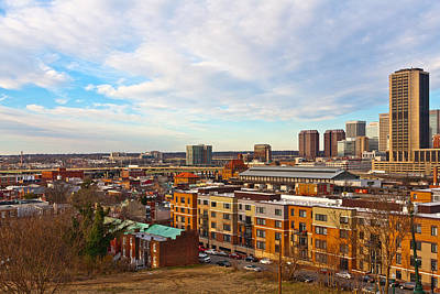 Photograph - Downtown Richmond Virginia by Melinda Fawver