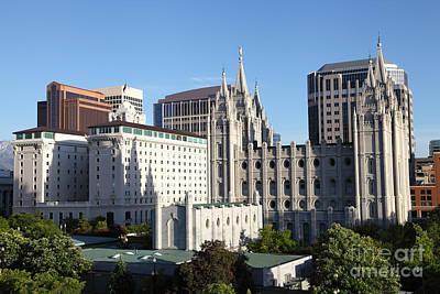Downtown Salt Lake City Utah Original