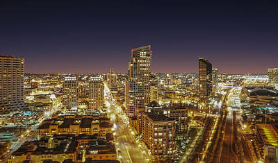 Photograph - Downtown San Diego by Alex Weinstein