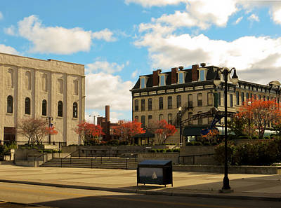 Photograph - Downtown Sandusky Ohio by Shawna Rowe