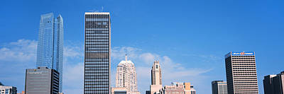 Devon Tower Photograph - Downtown Skyline, Devon Tower, Oklahoma by Panoramic Images