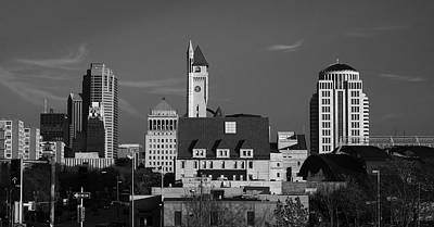 Photograph - Downtown St. Louis by Scott Rackers
