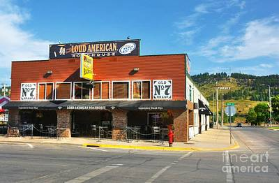 Photograph - Downtown Sturgis 3 by Mel Steinhauer