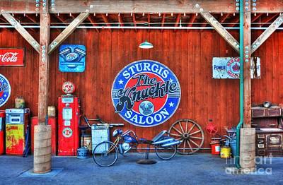 Photograph - Downtown Sturgis 7 by Mel Steinhauer