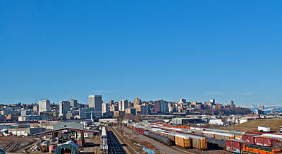 Photograph - Downtown Tacoma View From The Rail Lines by Tikvah's Hope