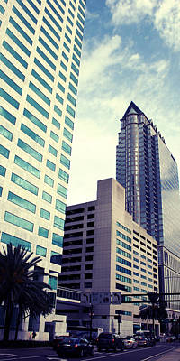 Photograph - Downtown Tampa by Beverly Stapleton