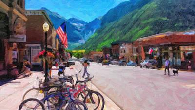 Downtown Telluride Art Print