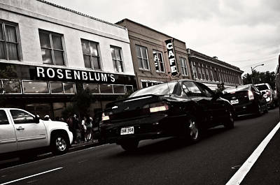 Photograph - Downtown Traffic by Andy Crawford