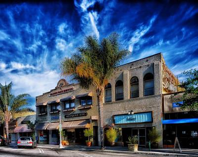 Ventura California Photograph - Downtown Ventura by Mountain Dreams