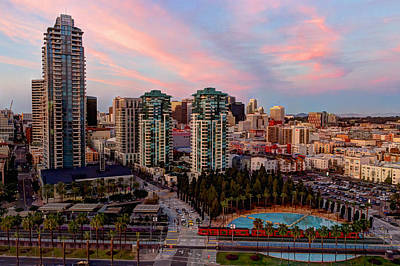 Photograph - Downtown View San Diego by Heidi Smith