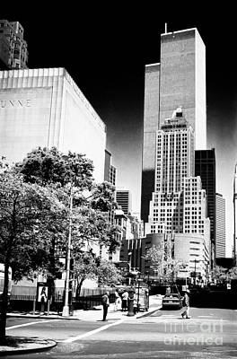 Photograph - Downtown Views 1990s by John Rizzuto