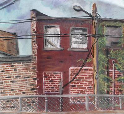 Downtown Warrensburg Art Print by Billy Granneman