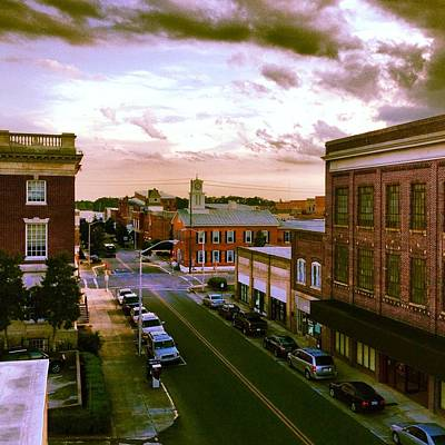 Downtown Washington Nc Art Print