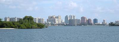 Photograph - Downtown West Palm Beach by Ron Davidson