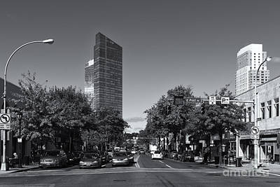 Photograph - Downtown White Plains New York Iv by Clarence Holmes