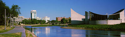 Wichita Photograph - Downtown Wichita Viewed From The Bank by Panoramic Images