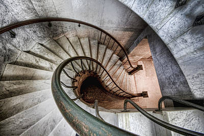 Downward Spiral Art Print by Brent Durken