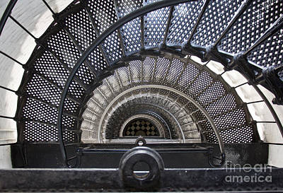 Downward Spiral Art Print by Douglas Stucky