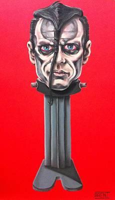 Pastel - Doyle Wolfgang Von Frankenstein by Brent Andrew Doty