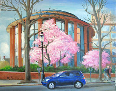 Painting - Doylestown Court House by Oz Freedgood