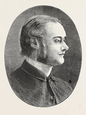 Dr. Carver, Head Master Of Dulwich College, Engraving 1876 Art Print by English School