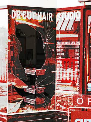 Long Street Digital Art - Dr Cut by Steve Taylor