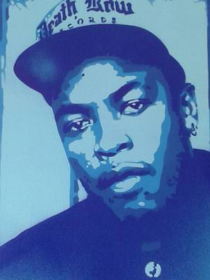Dr Dre Blue Original by Leon Keay