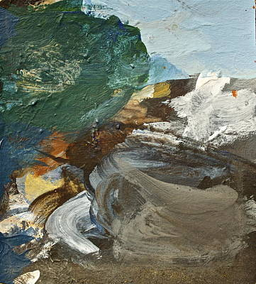 Painting - Dr Driftwood Undertow by Cliff Spohn
