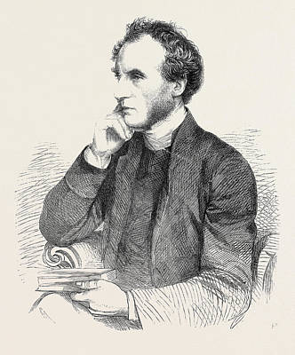 Dr House Drawing - Dr. Ellicott Bishop Designate Of Gloucester And Bristol 1862 by English School