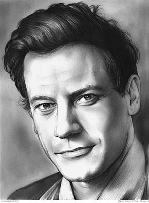 Forever Drawing - Dr. Henry Morgan by Greg Joens