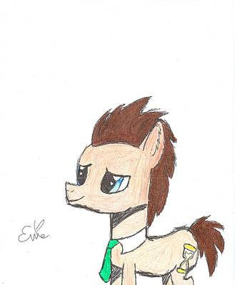 My Little Pony Drawing - Dr. Hooves by Rhapsody Forever