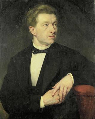 Dr J L Dusseau, Thérèse Schwartze Art Print