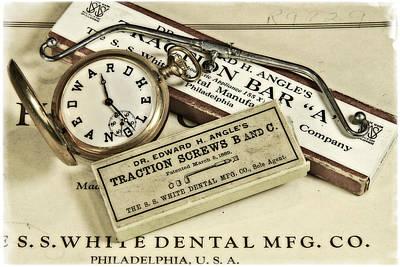 Photograph - Dr Jenkins Antique Dental Equipment by Garry McMichael
