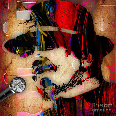 Piano Mixed Media - Dr John Collection by Marvin Blaine
