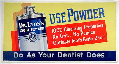 Dr. Teeth Digital Art - Dr. Lyon's Tooth Powder by Woodson Savage