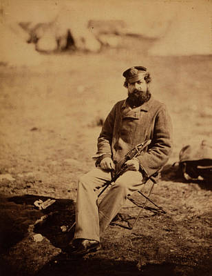 Dr. Marlow, 28th Regiment, Crimean War, 1853-1856 Print by Quint Lox