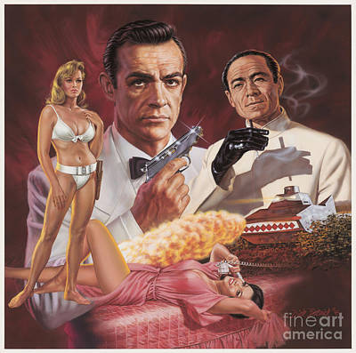 Painting - Dr. No by Dick Bobnick