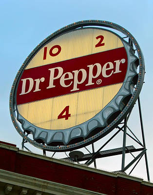 Photograph - Dr Pepper Sign by Kara  Stewart
