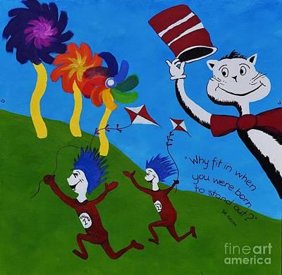 Dr Seuss Art Print