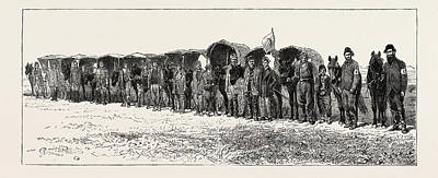 Dr. Stokers Field Ambulance Corps Stafford House Society Art Print by Turkish School