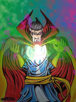 Dr. Strange Print by Jeff Bonesteel
