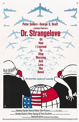 Sterling Hayden Photograph - Dr Strangelove by Georgia Fowler